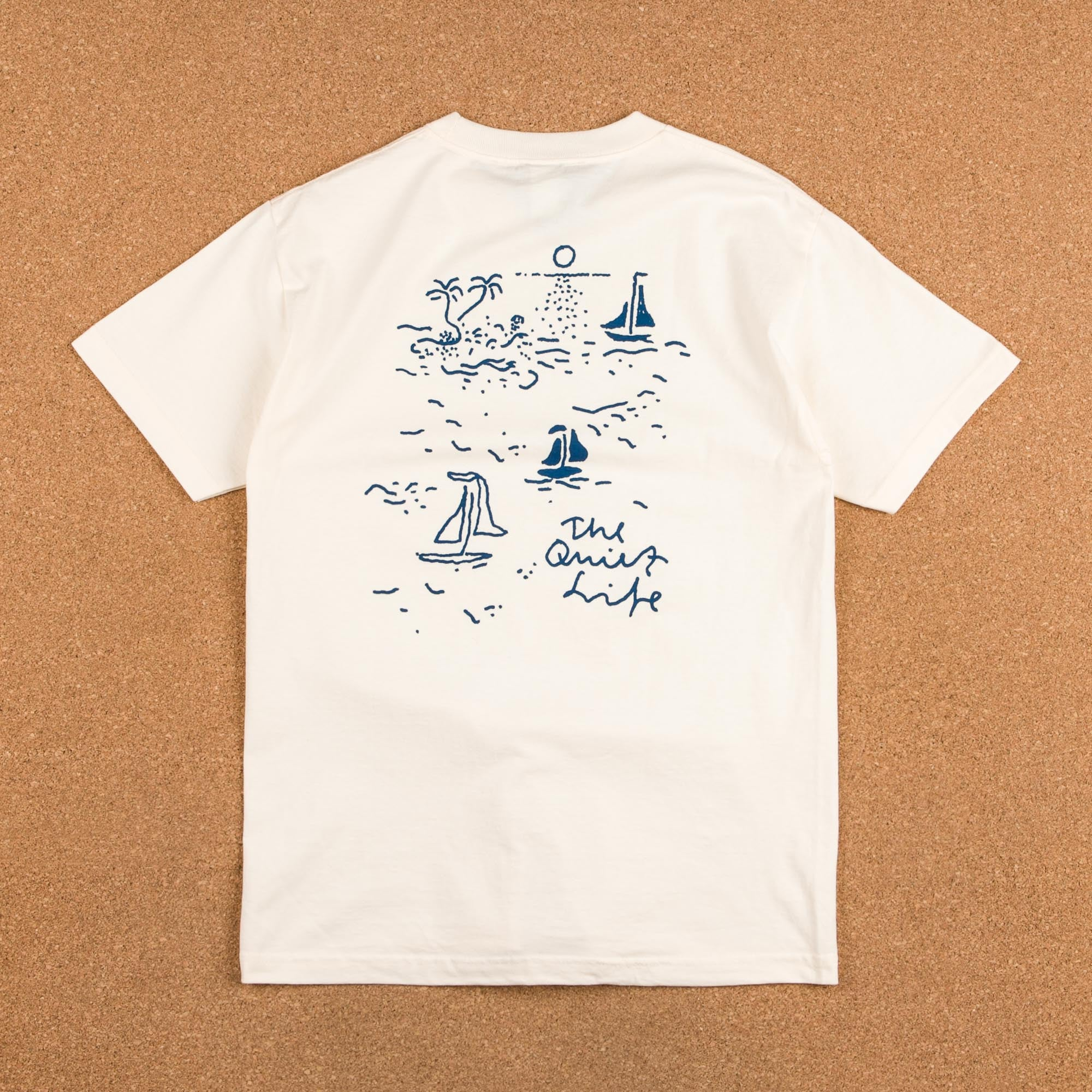 The Quiet Life Sail T-Shirt - Natural