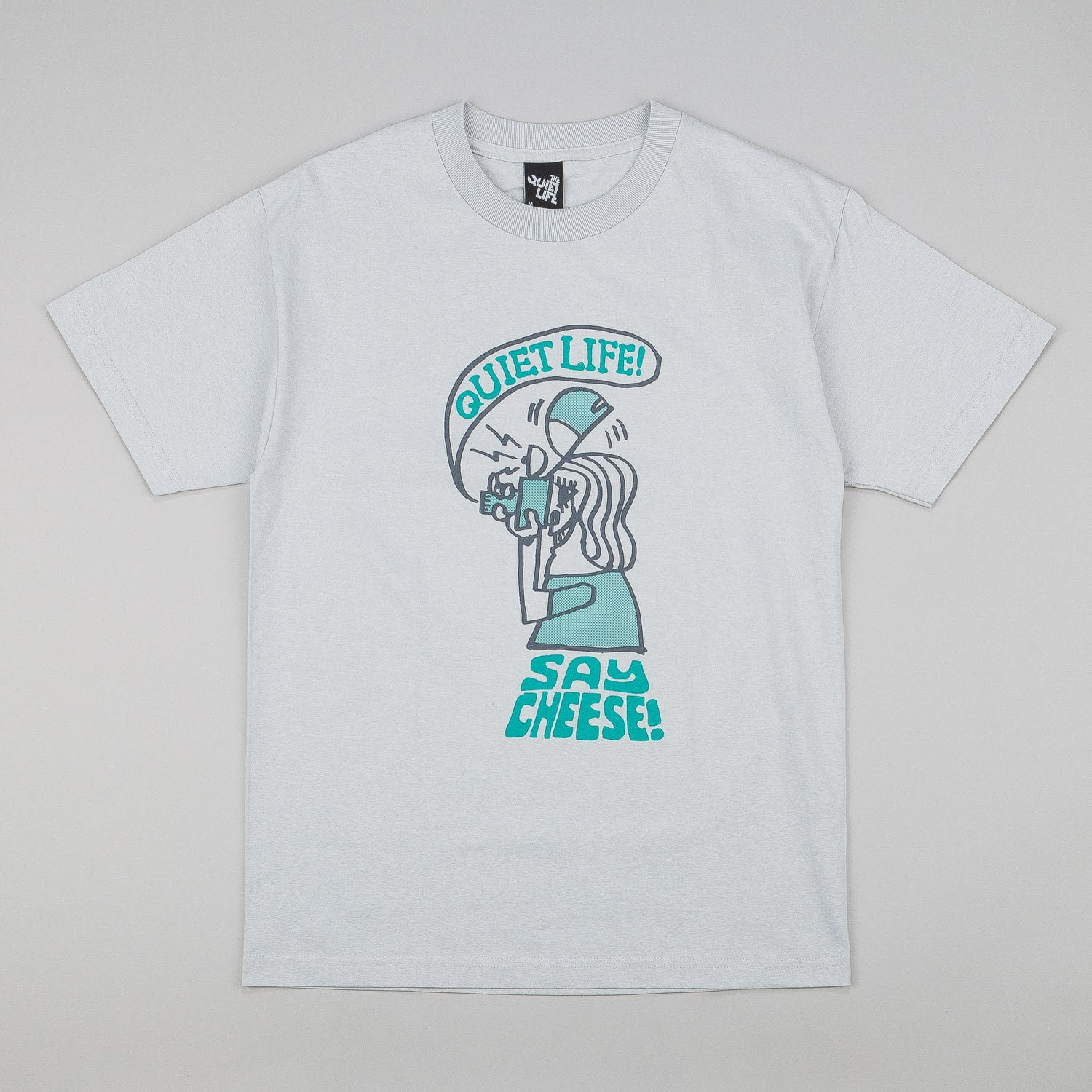 The Quiet Life Say Cheese T-Shirt - Silver