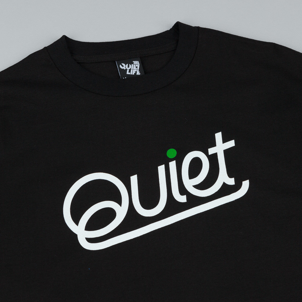 The Quiet Life Script T-Shirt - Black