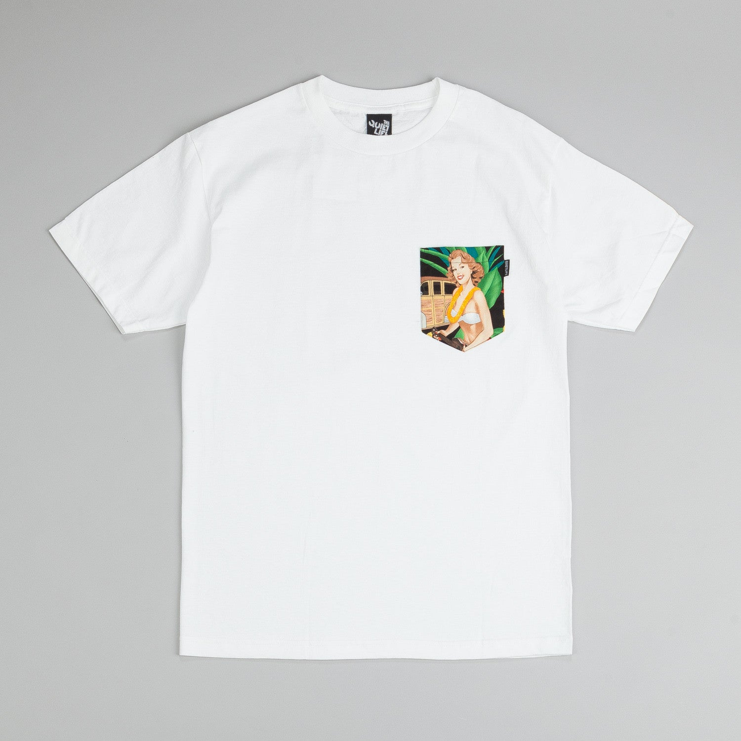 The Quiet Life Senorita Pocket T-Shirt White