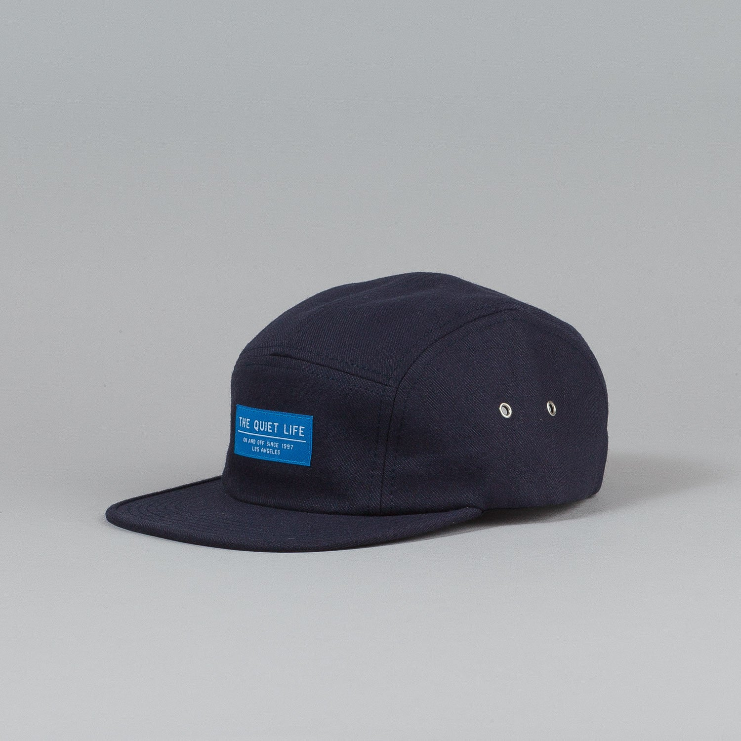 The Quiet Life Serge 5 Panel Cap Navy