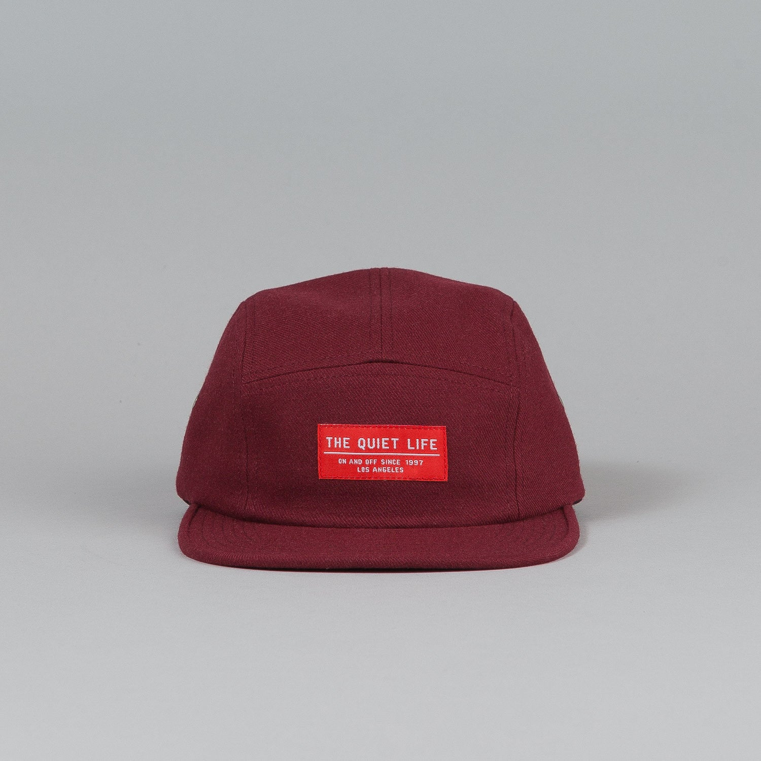 The Quiet Life Serge 5 Panel Cap Rust