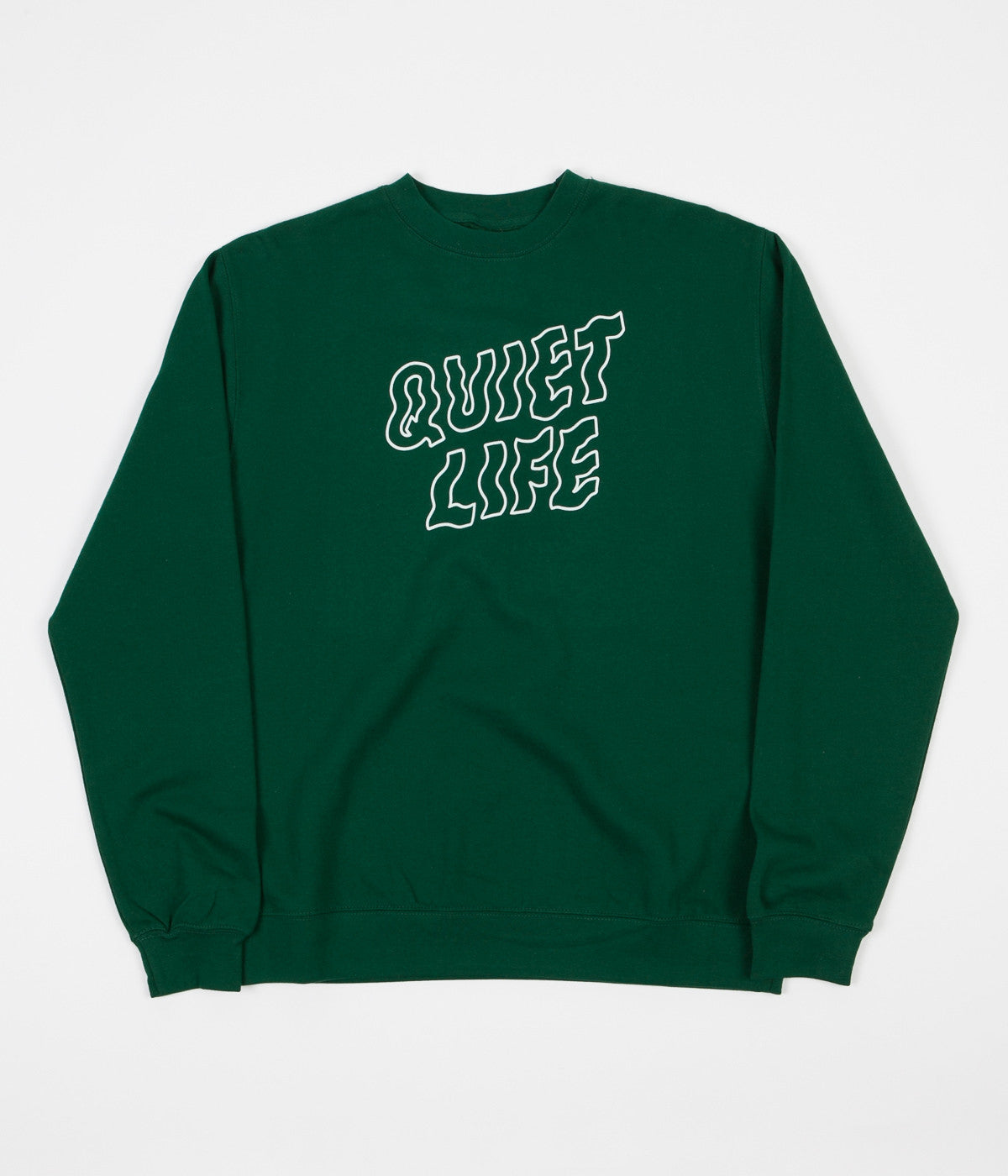 The Quiet Life Shakay Crewneck Sweatshirt - Hunter Green