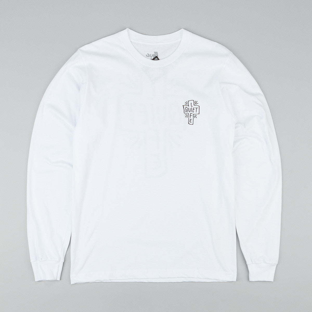 The Quiet Life Sharpie L/S T-Shirt - White