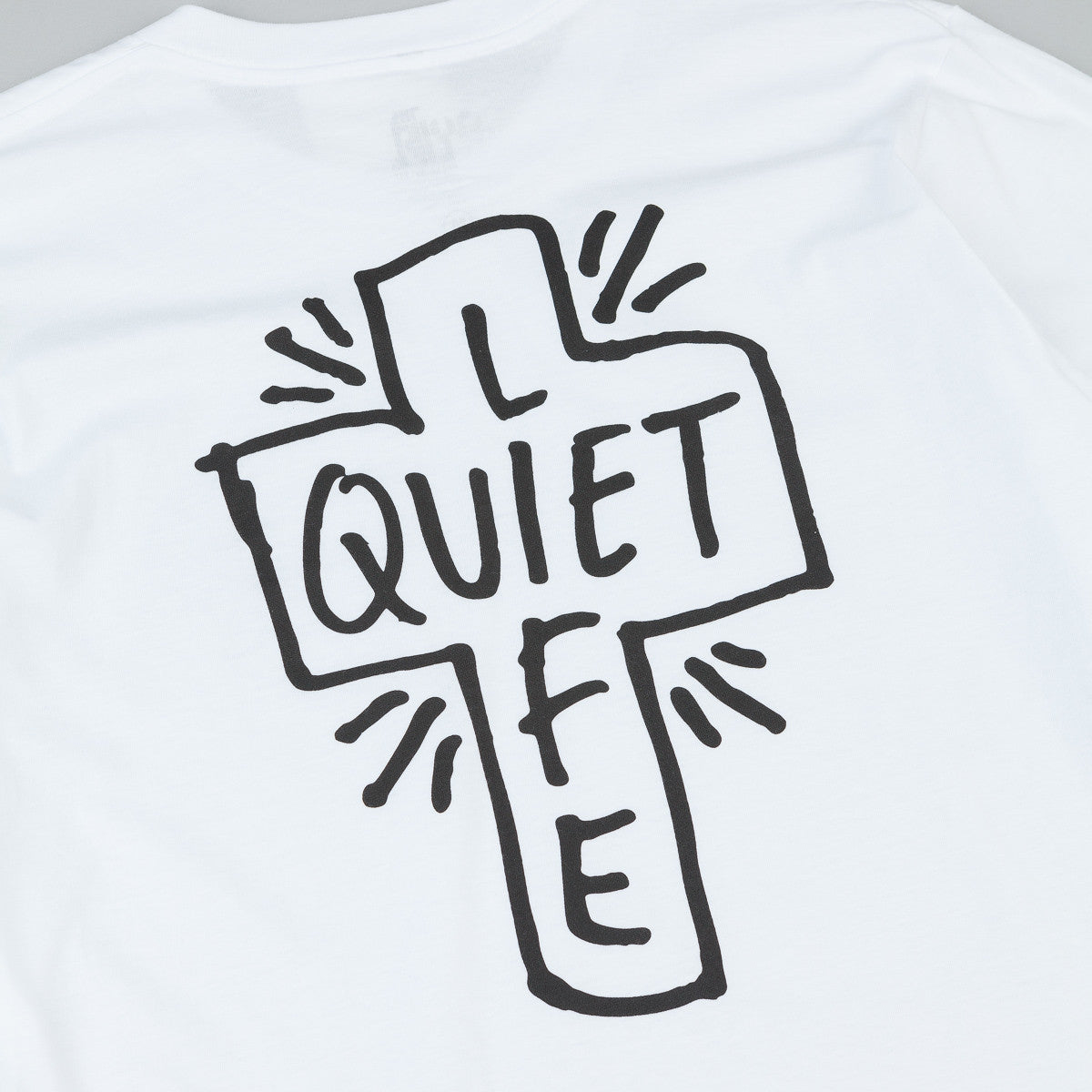 The Quiet Life Sharpie Long Sleeve T-Shirt - White