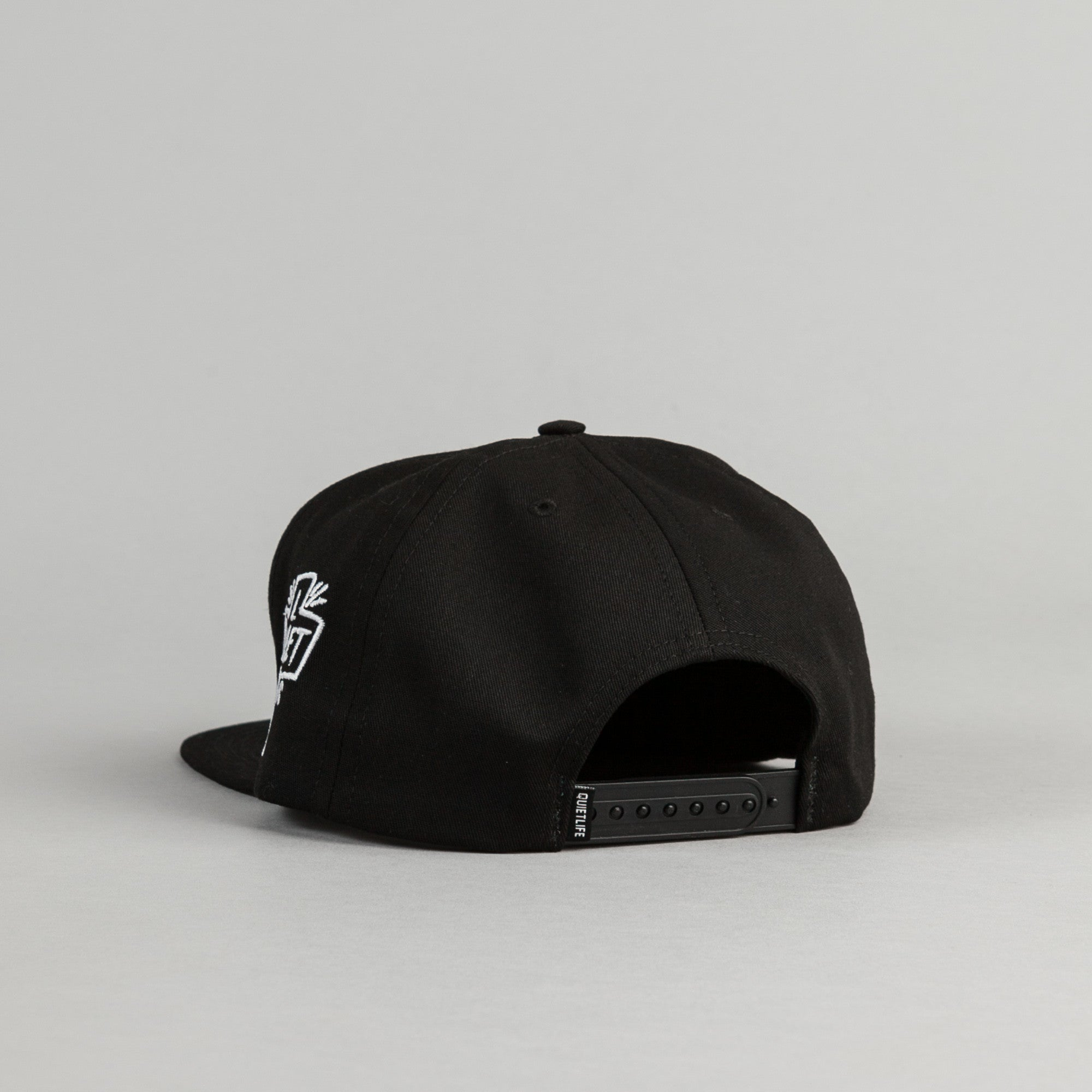 The Quiet Life Sharpie Snapback Cap - Black