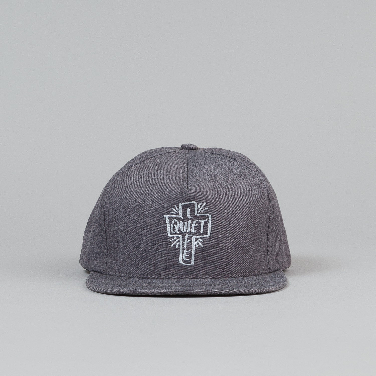 The Quiet Life Sharpie Snapback Cap - Heather Grey