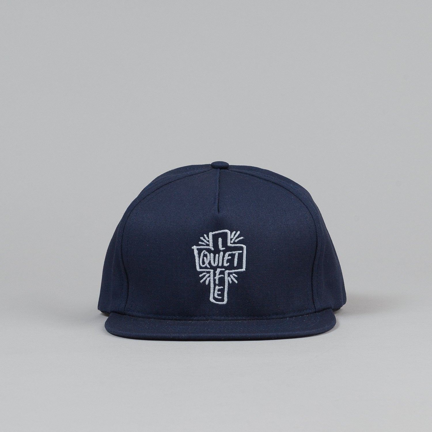 The Quiet Life Sharpie Snapback Cap - Navy