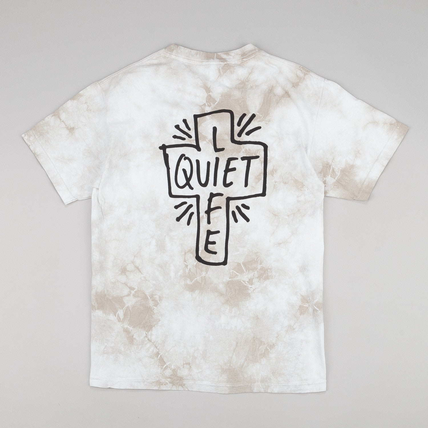 The Quiet Life Sharpie T-Shirt - White Lightning Wash