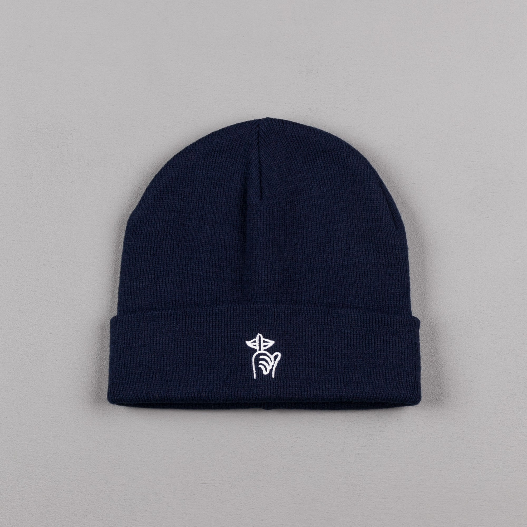 The Quiet Life Shhh Beanie - Navy