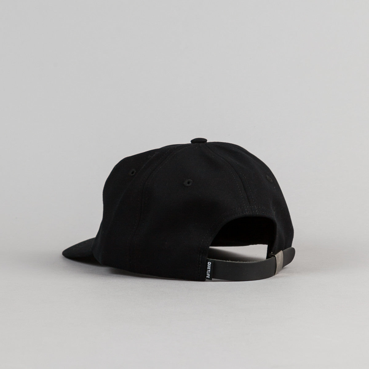 The Quiet Life Shhh Polo Cap - Black