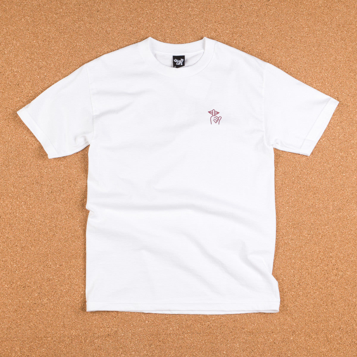 The Quiet Life Shhh T-Shirt - White