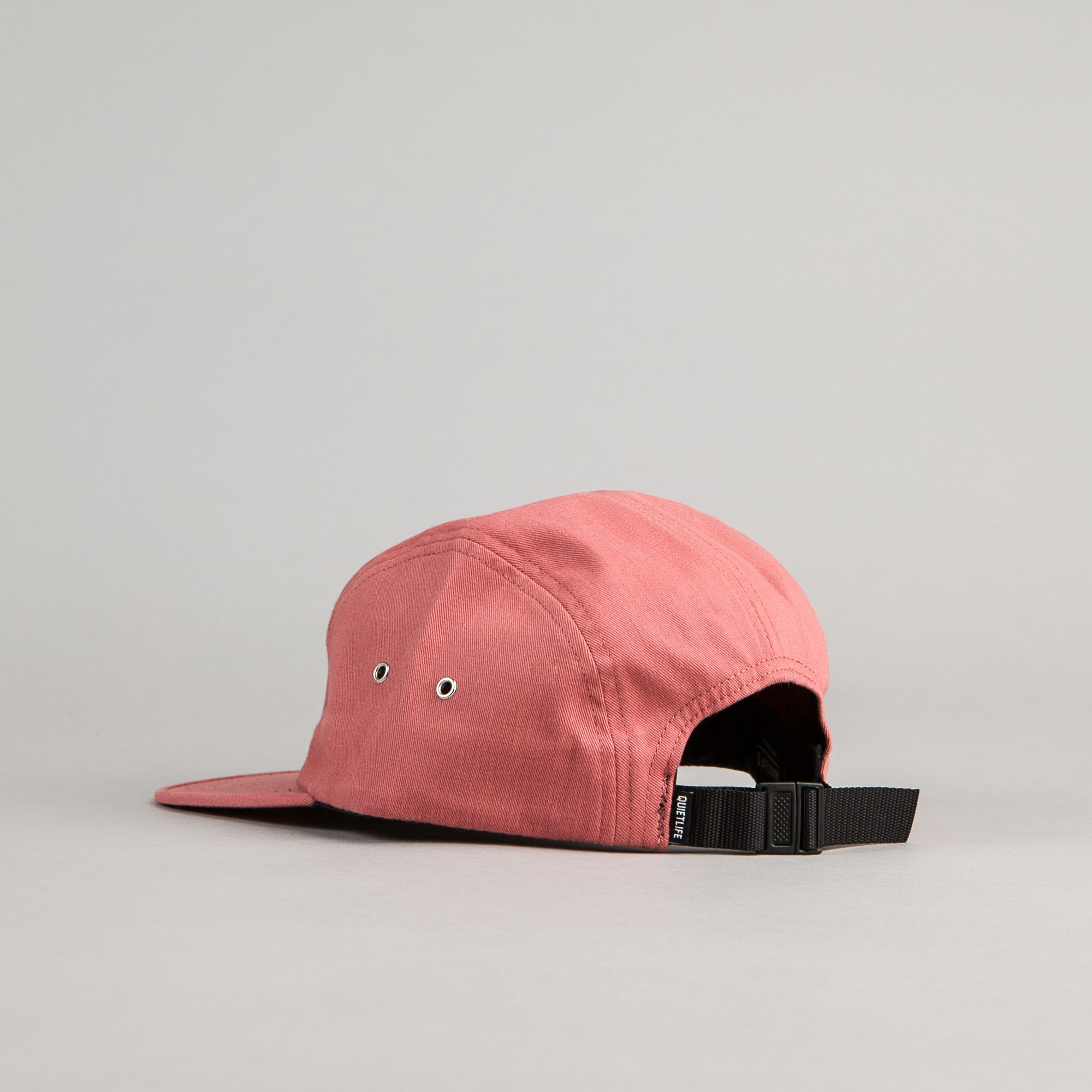 The Quiet Life Simple 5 Panel Cap - Clay