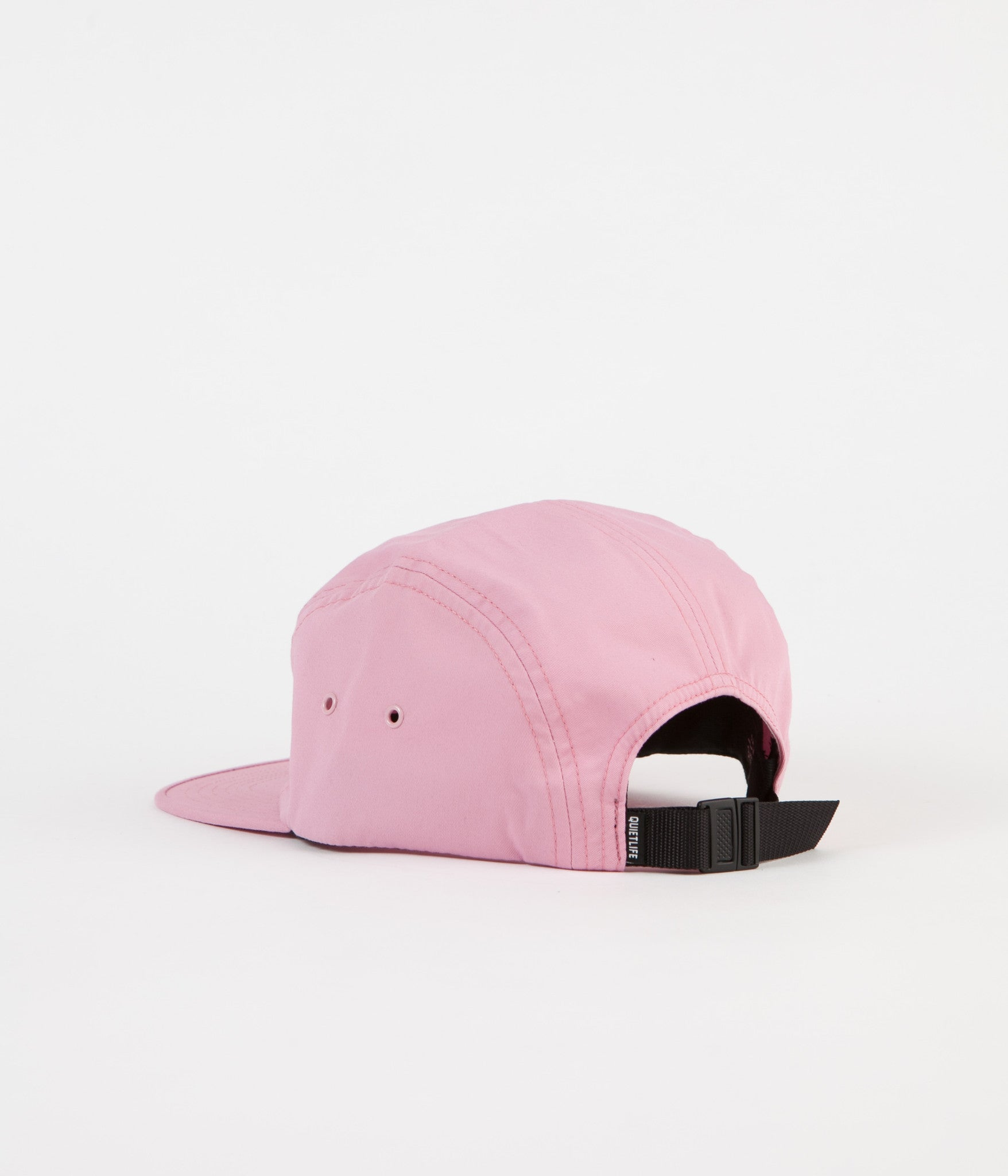 The Quiet Life Simple 5 Panel Cap - Pink