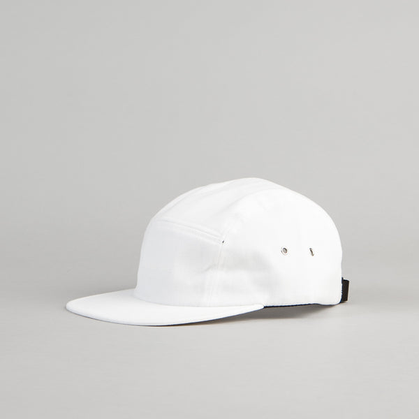 The Quiet Life Simple 5 Panel Cap - White