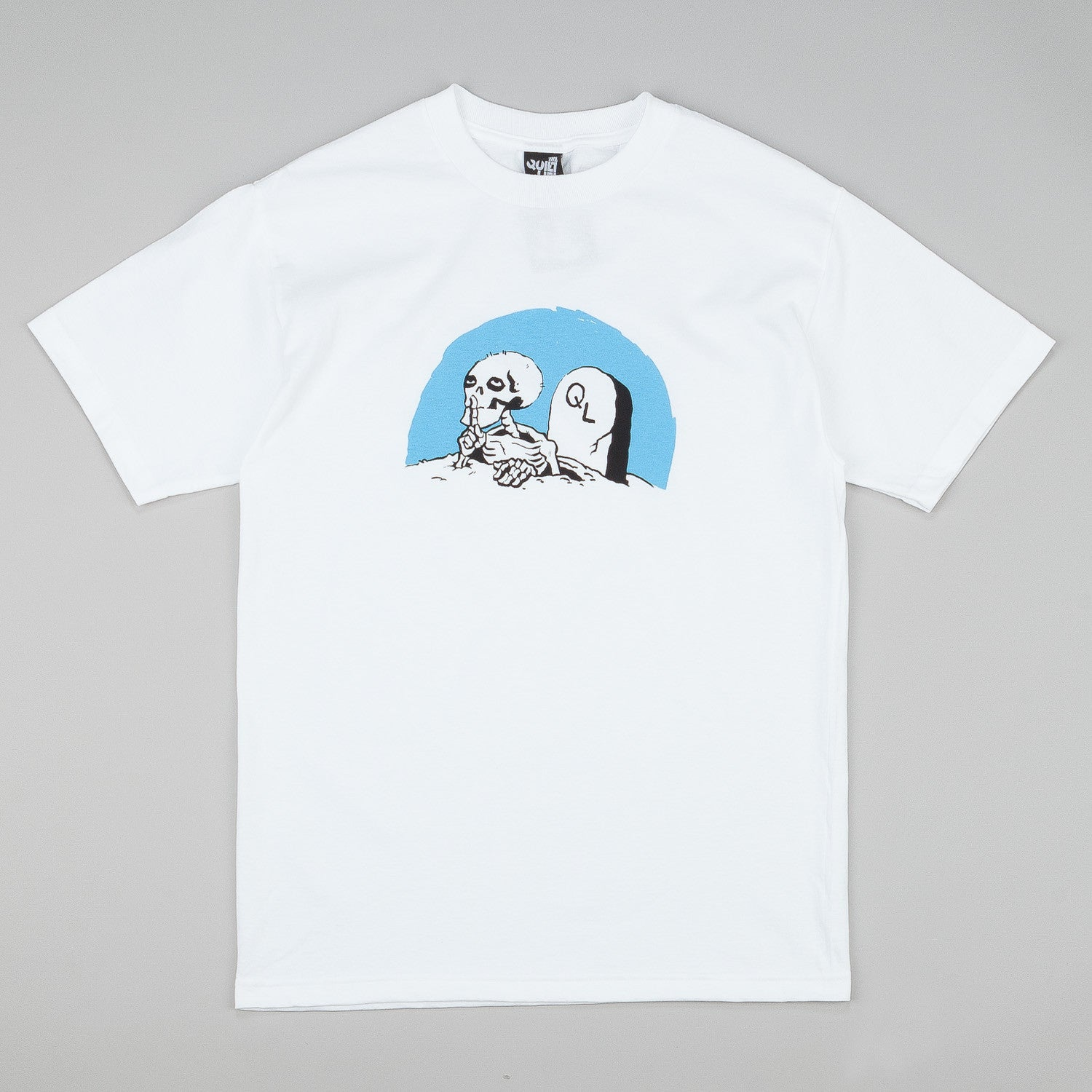 The Quiet Life Skeleton T-Shirt - White