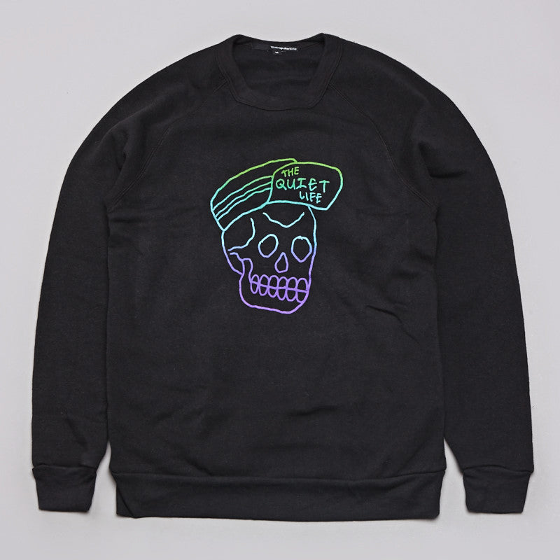 The Quiet Life Skull Cap Sweatshirt Black
