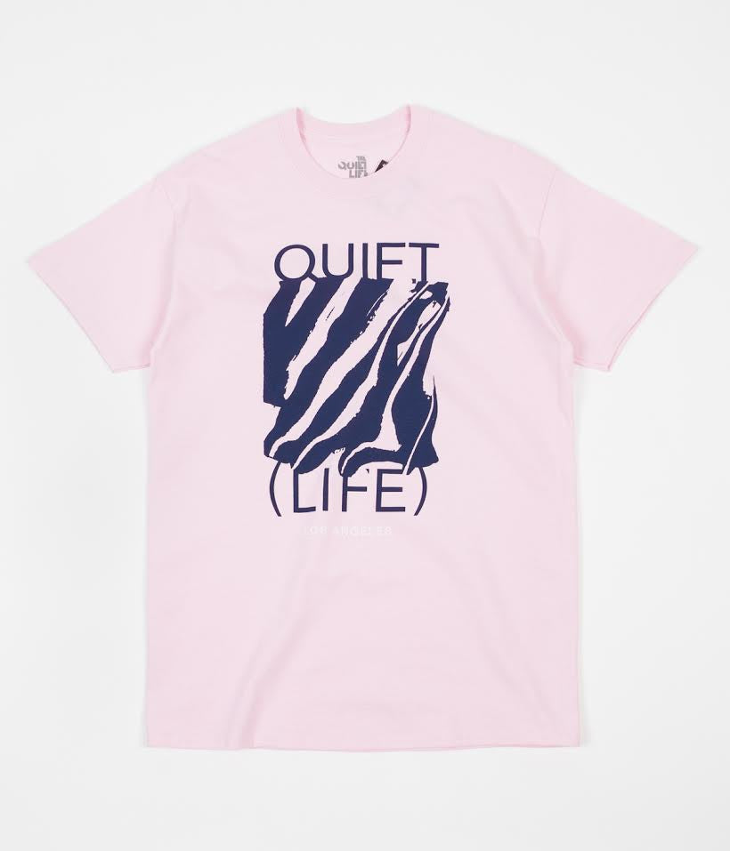 The Quiet Life Smear T-Shirt - Pink