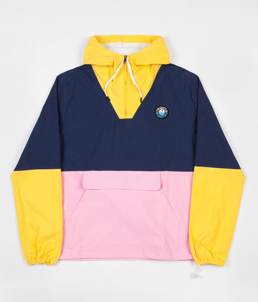 The Quiet Life Solar Cotton Jacket - Yellow / Navy / Pink
