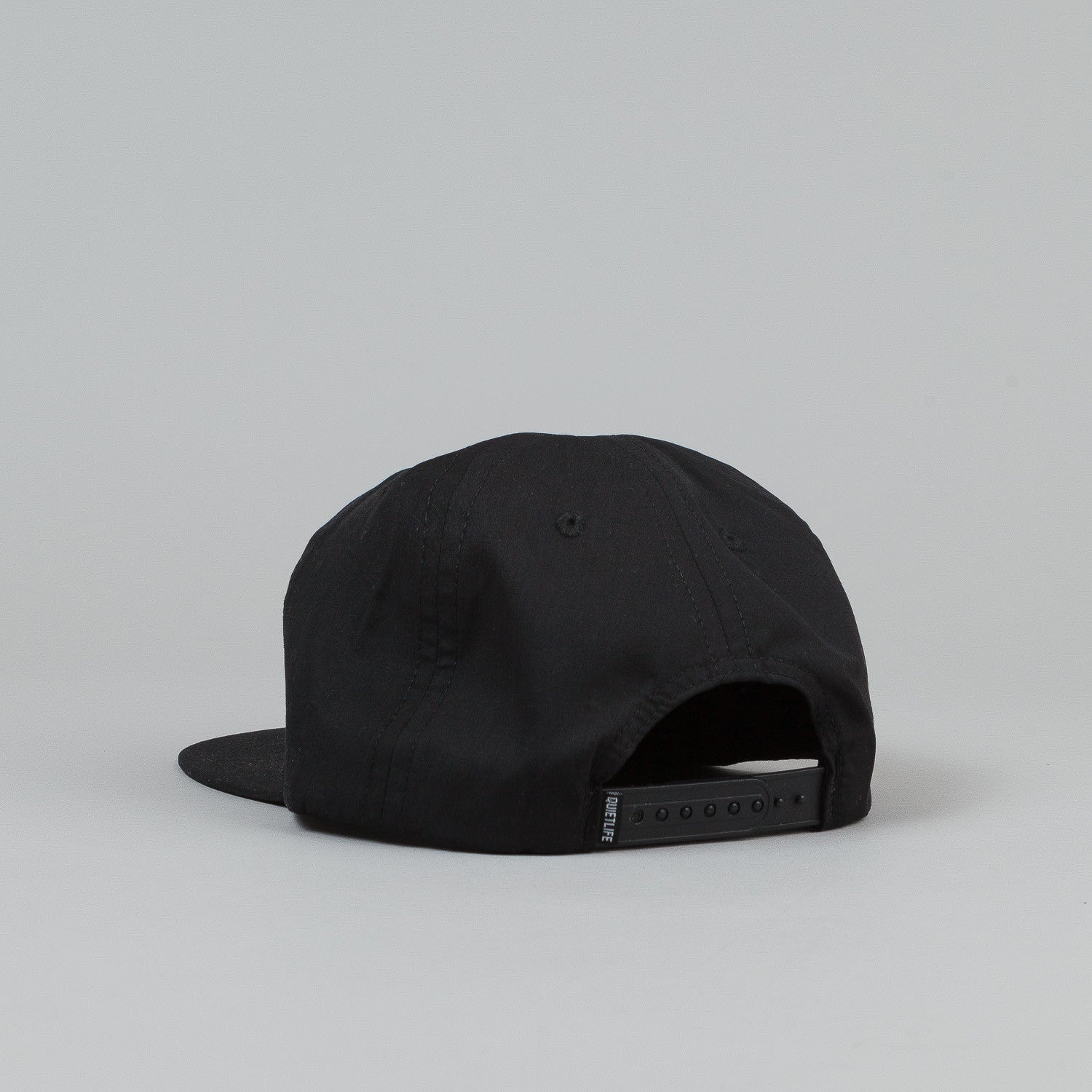 The Quiet Life Standard Relaxed Snapback - Black