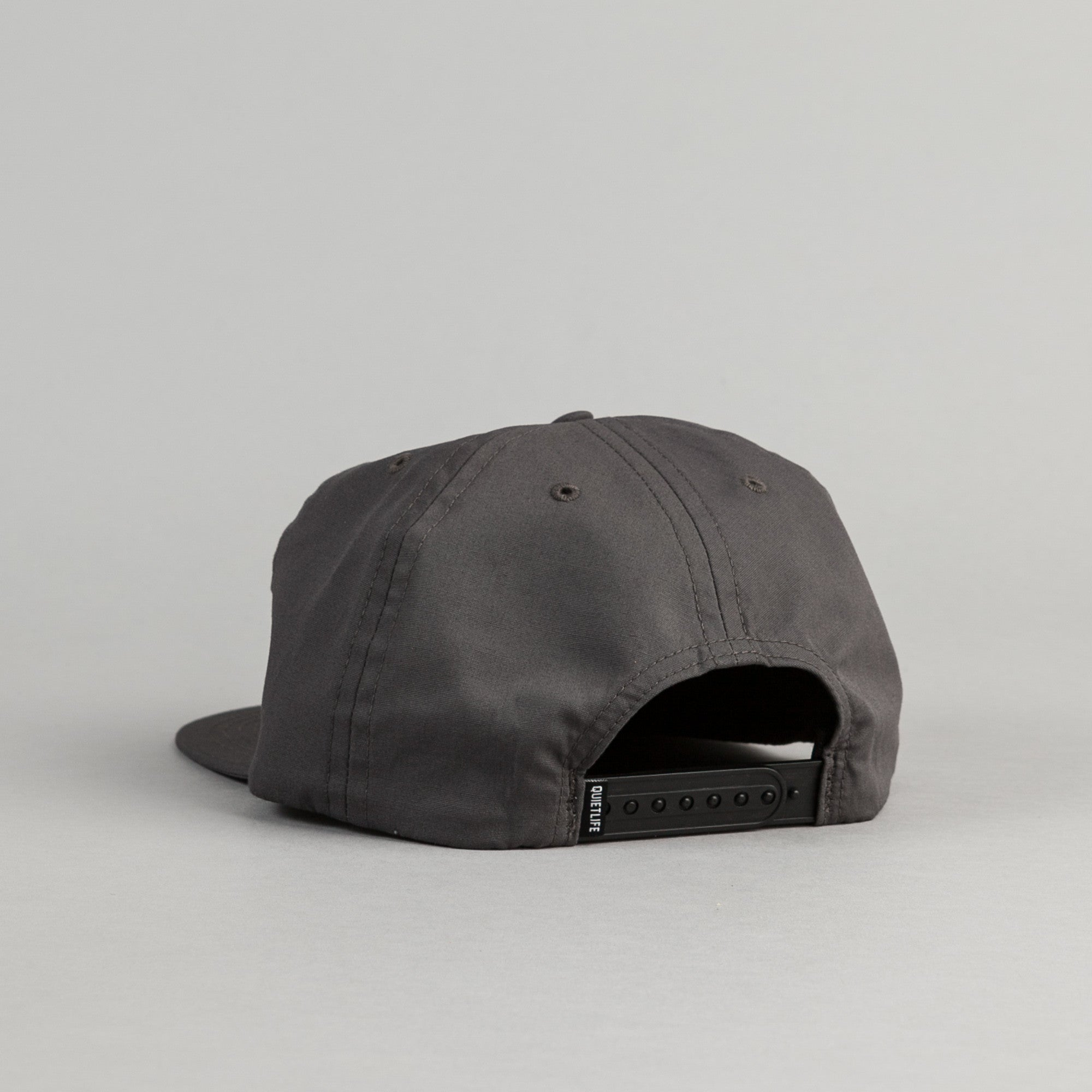 The Quiet Life Standard Snapback - Charcoal