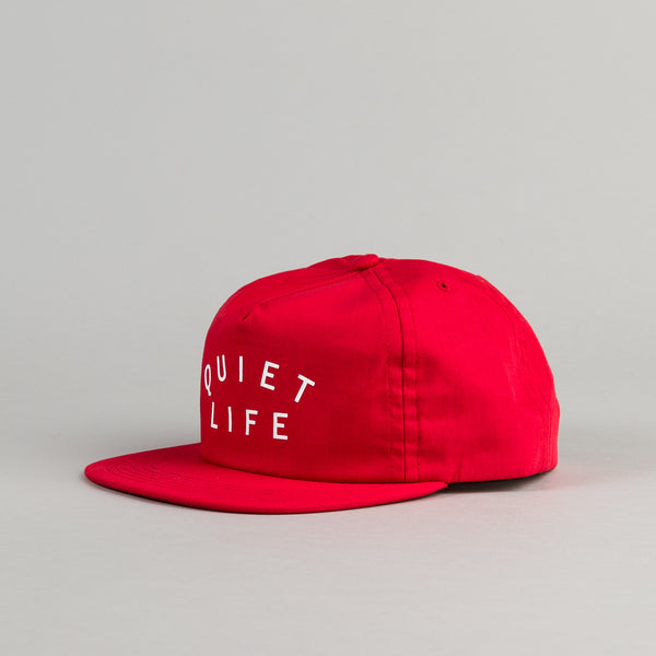 The Quiet Life Standard Snapback - Red