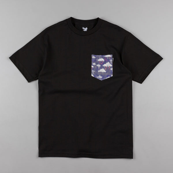 The Quiet Life Stormy Pocket T-Shirt - Black Liberty