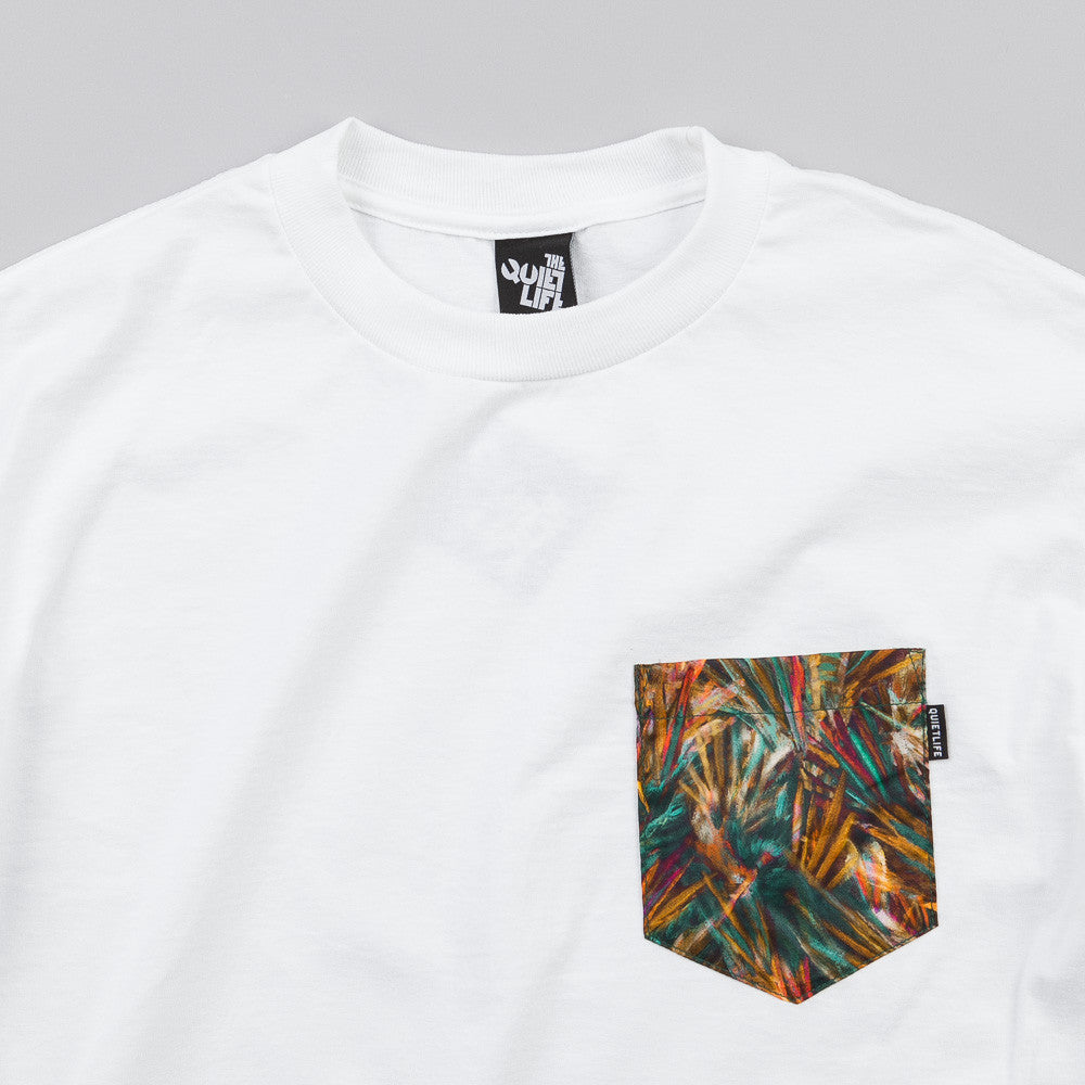 The Quiet Life Stroke Pocket T Shirt White