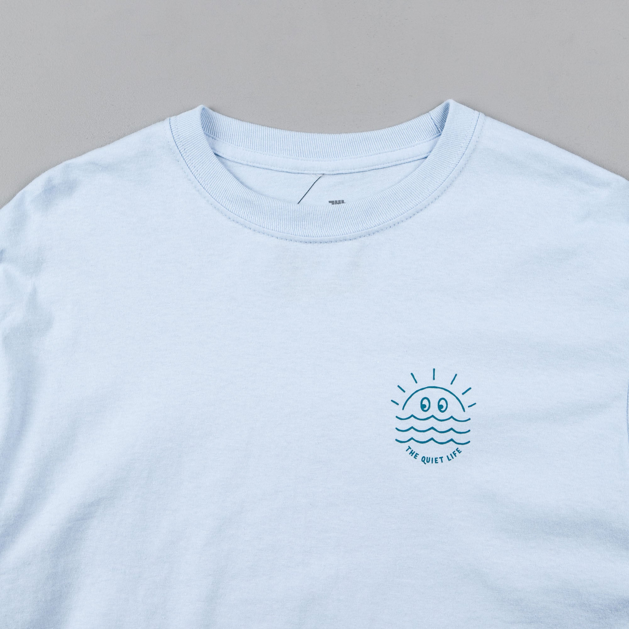 The Quiet Life Sunny Long Sleeve T-Shirt - Light Blue