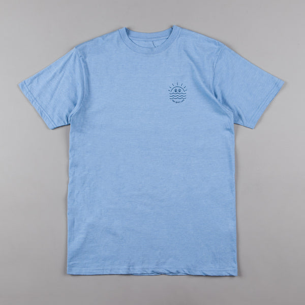 The Quiet Life Sunny Premium T-Shirt - Heather Blue