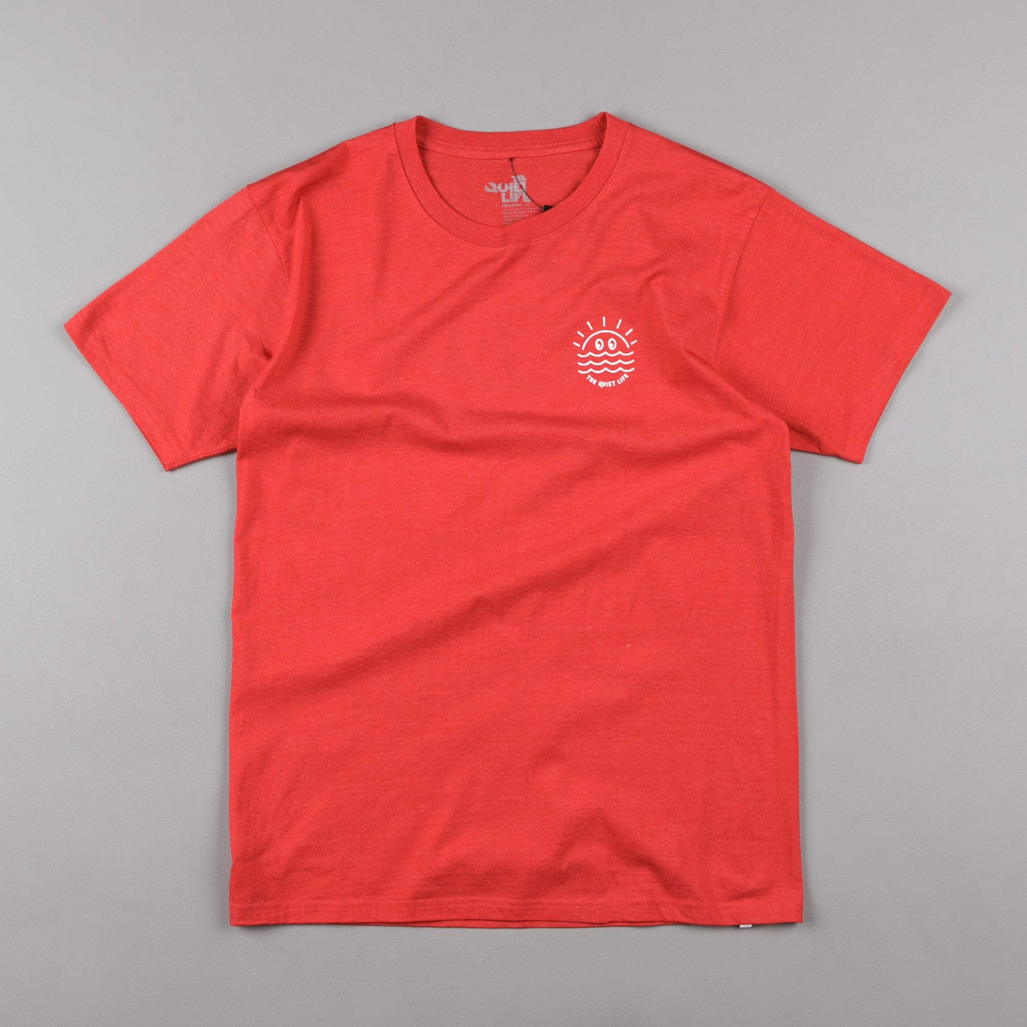 The Quiet Life Sunny Premium T-Shirt - Heather Orange