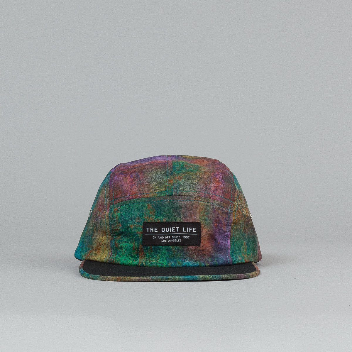 The Quiet Life Tamsyn 5 Panel Cap - Black Bill