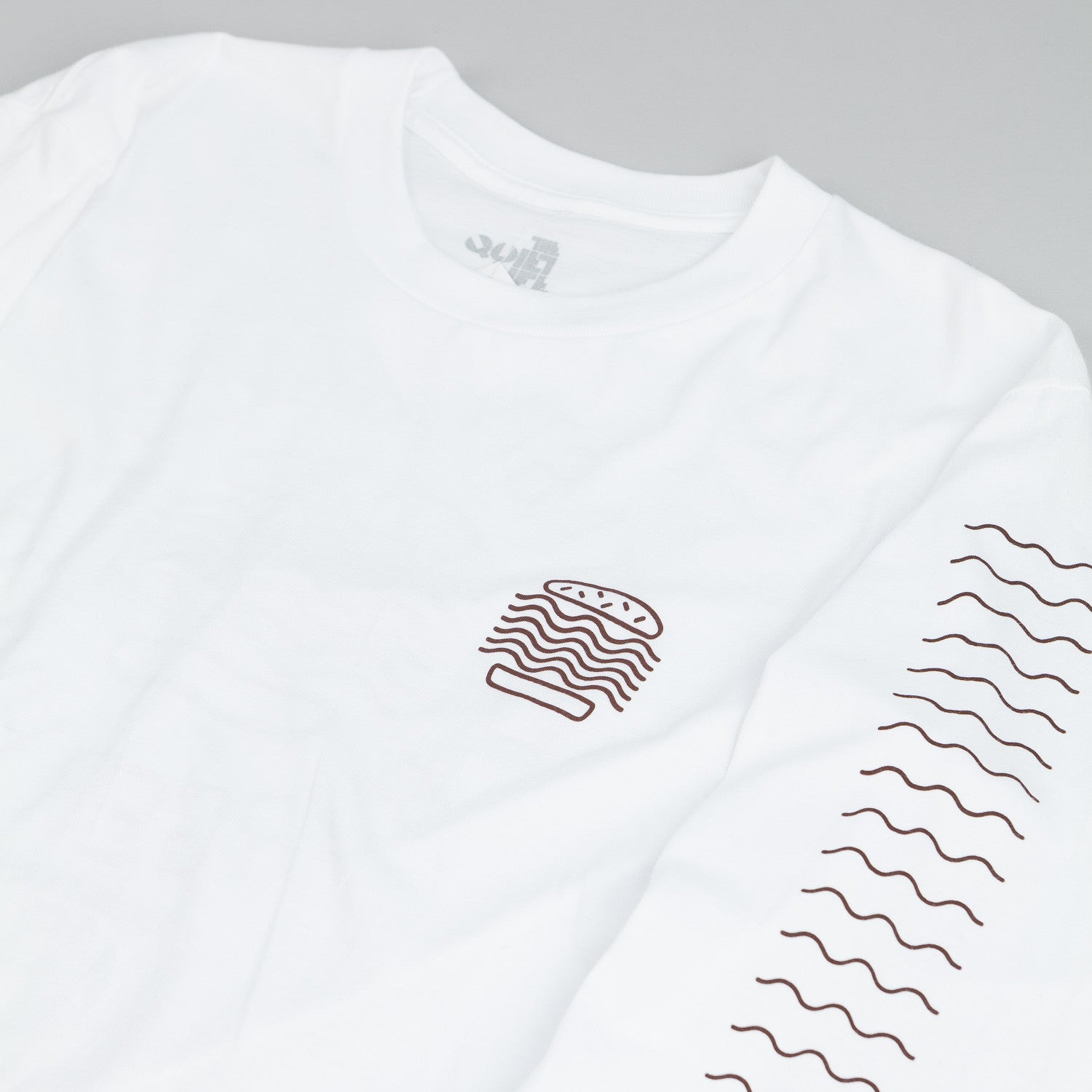 The Quiet Life Tasty Waves Long Sleeve T Shirt - White
