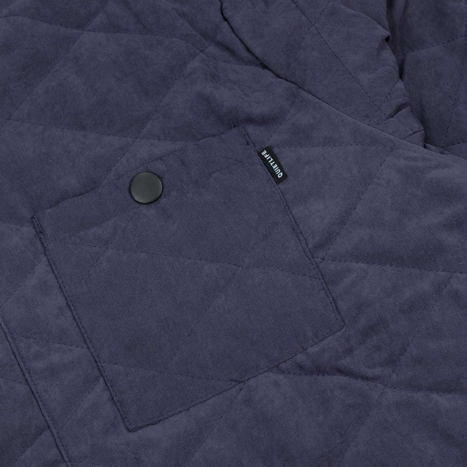 The Quiet Life Three Pocket Quilted Jacket - Navy