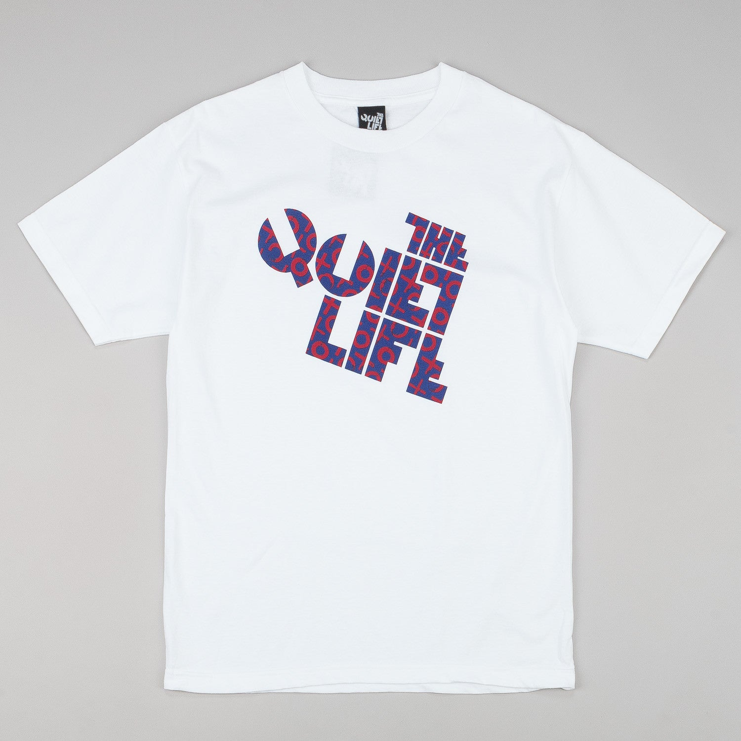 The Quiet Life Tic-Tac Block T-Shirt - White