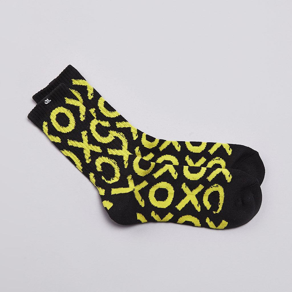 The Quiet life Tic Tac Socks Black