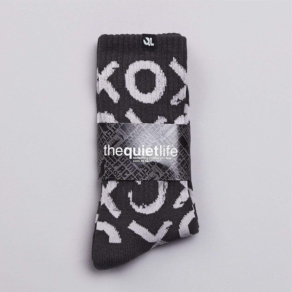 The Quiet life Tic Tac Socks Grey