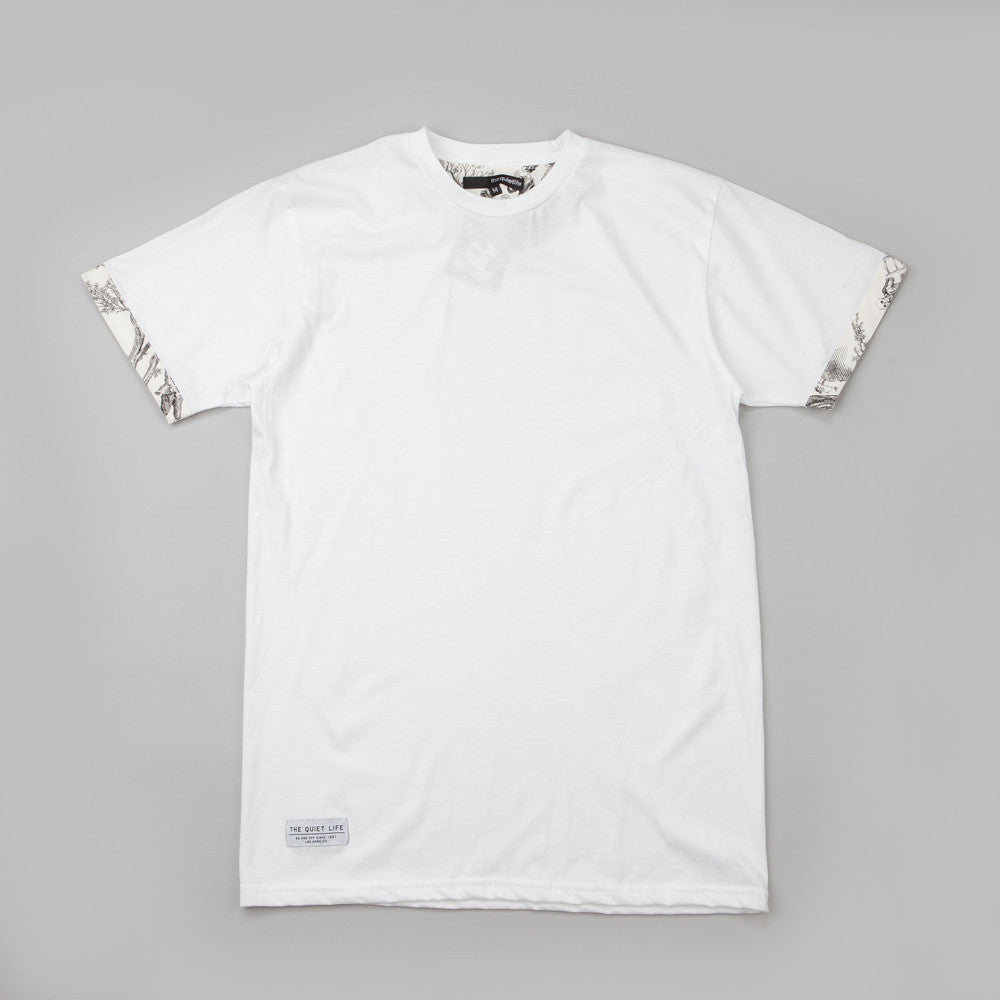 The Quiet Life Toile T Shirt White