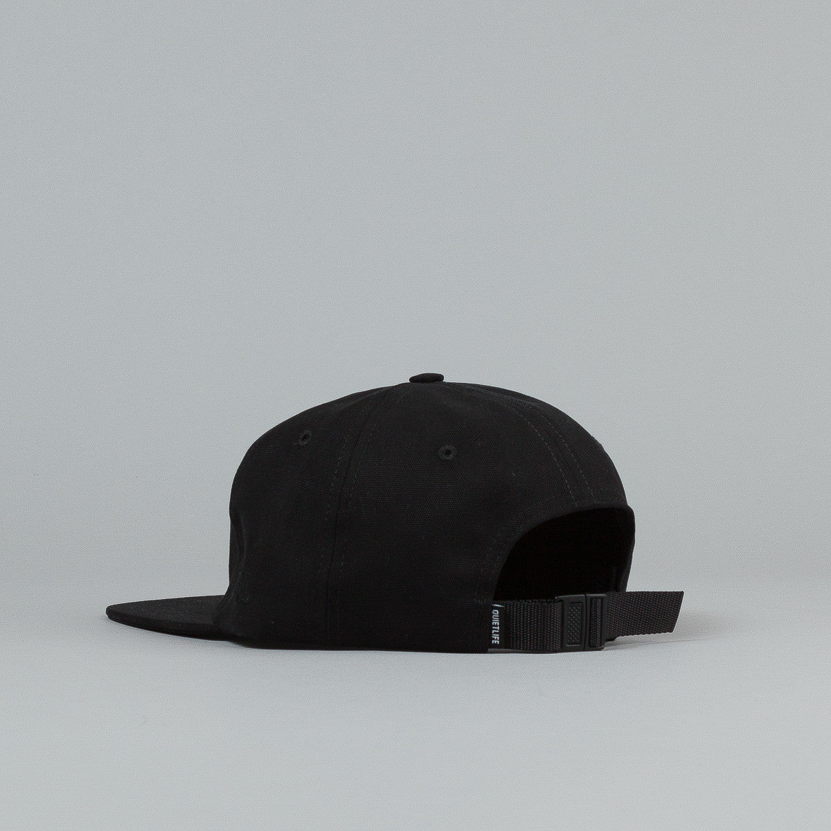 The Quiet Life Tomorrow Polo Cap - Black