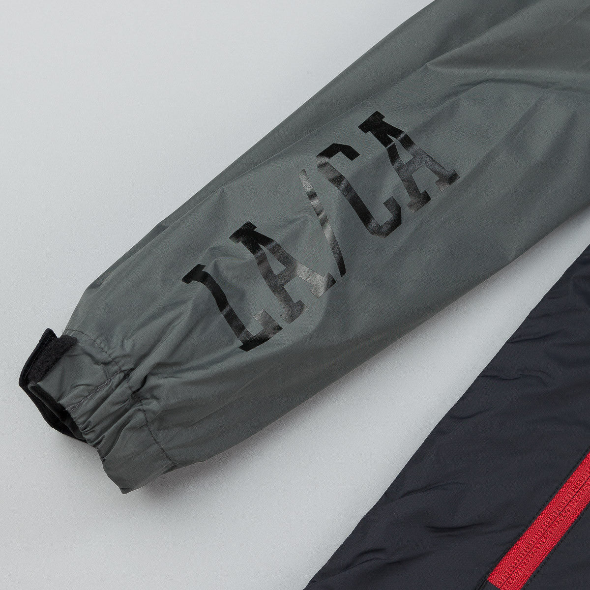 The Quiet Life Trail Windbreaker Jacket - Grey / Black