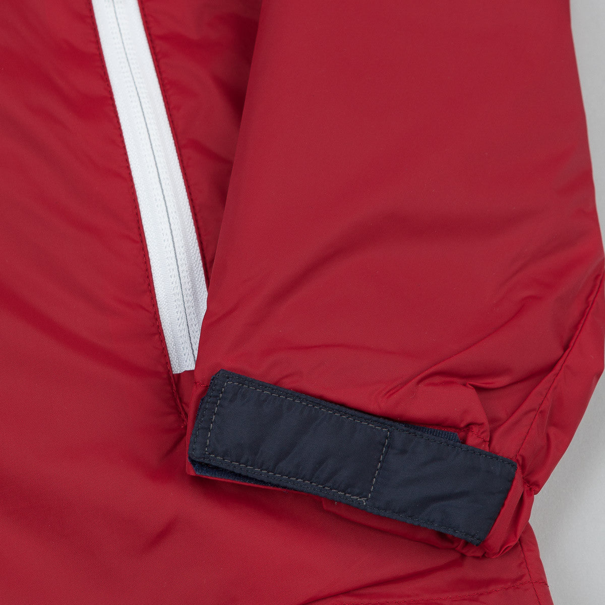 The Quiet Life Trail Windbreaker Jacket - Red / Navy