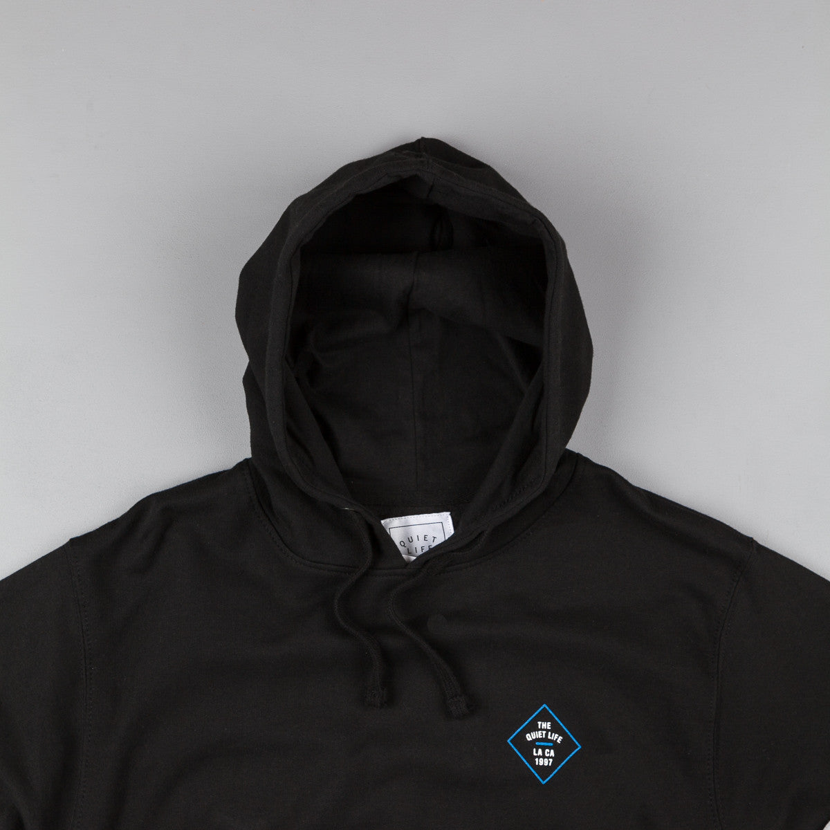The Quiet Life Traveler Hooded Sweatshirt - Black