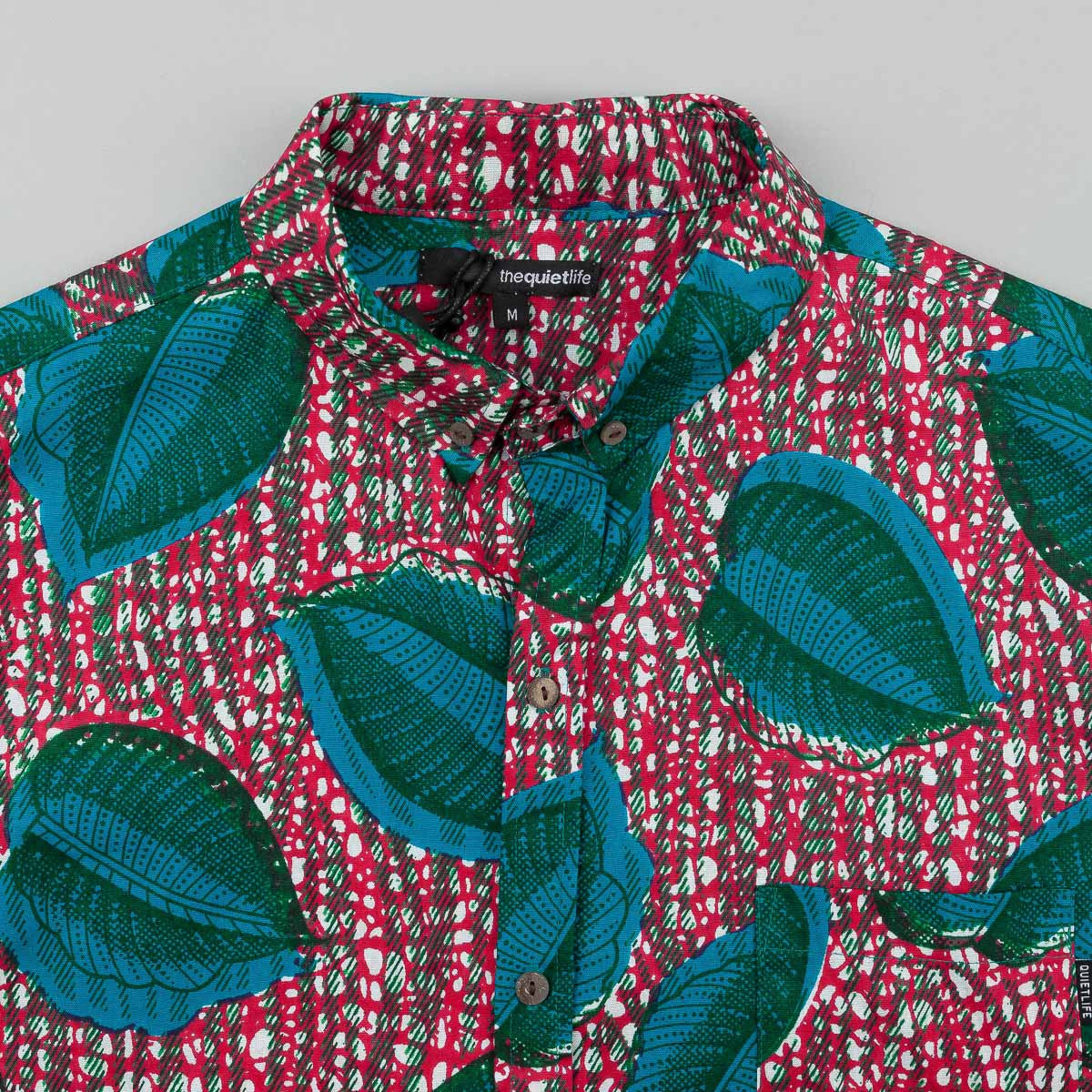 The Quiet Life Tropical Button Down Short Sleeve Shirt - Multi
