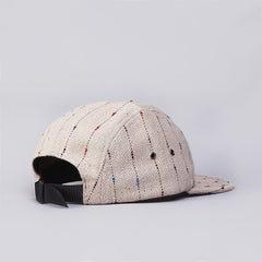 The Quiet Life Tweed 5 Panel Cap Tan