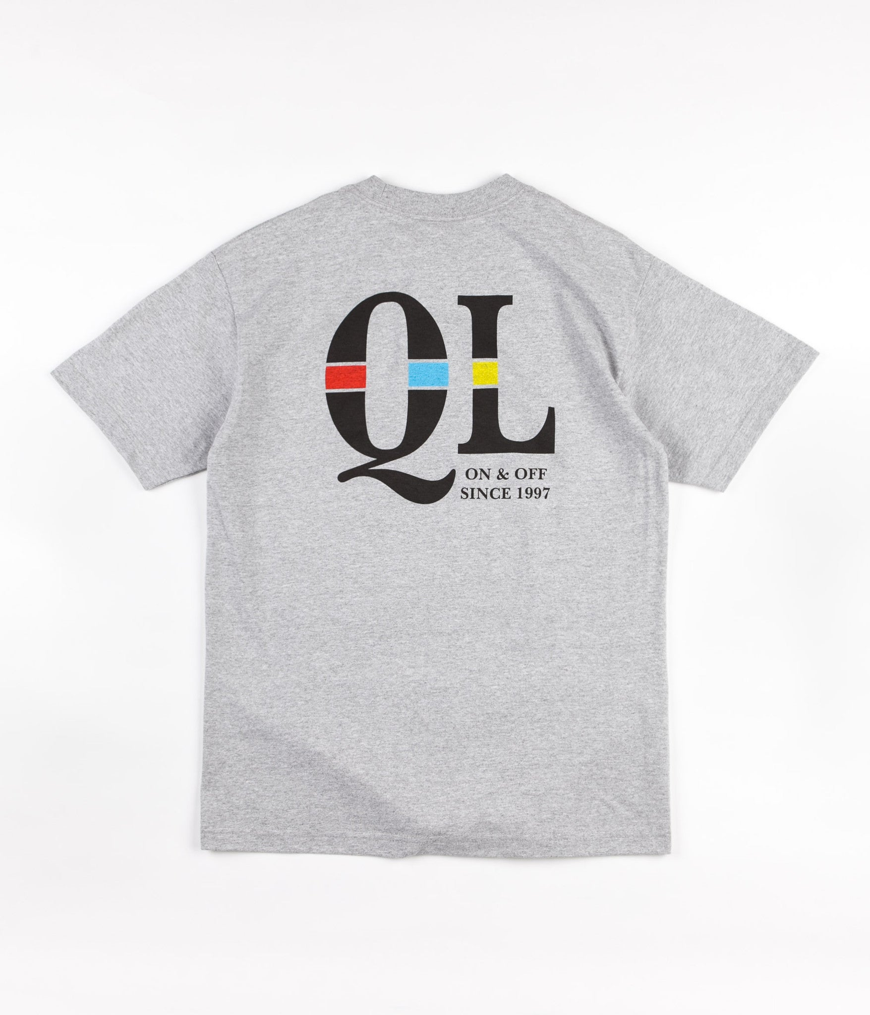 The Quiet Life Unchained T-Shirt - Heather Grey