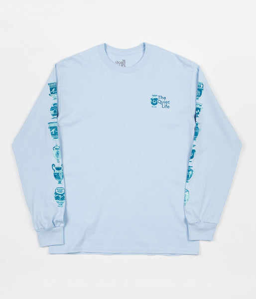 The Quiet Life Vase Long Sleeve T-Shirt - Light Blue