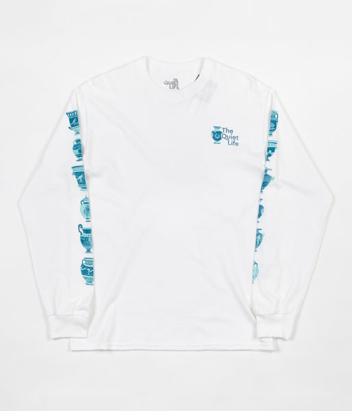 The Quiet Life Vase Long Sleeve T-Shirt - White