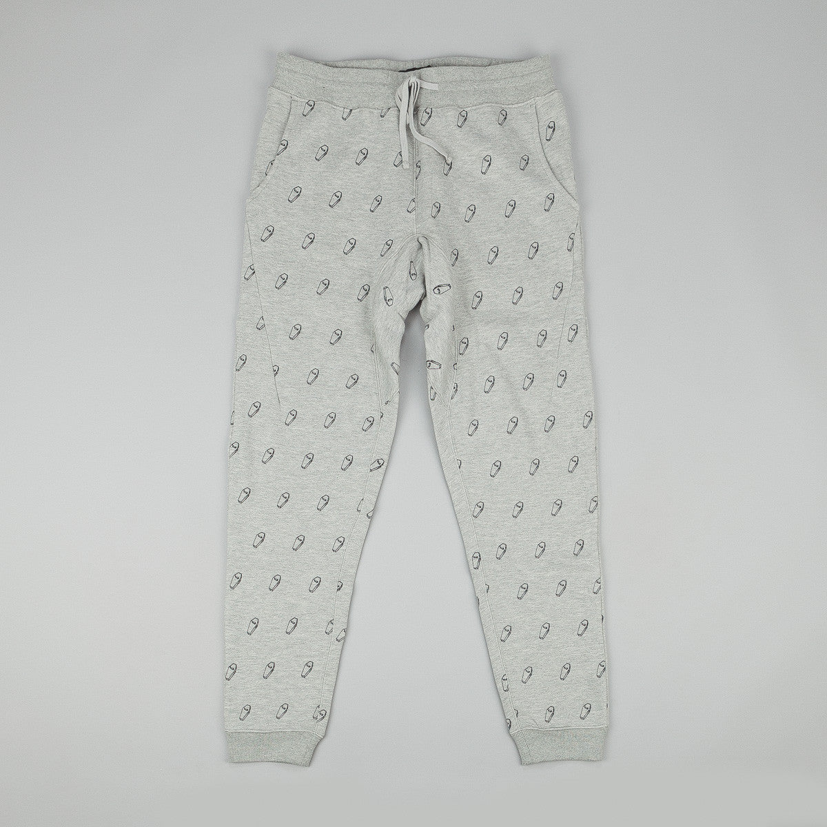 The Quiet Life VIP Embroidered Jogger Pant - Heather Grey