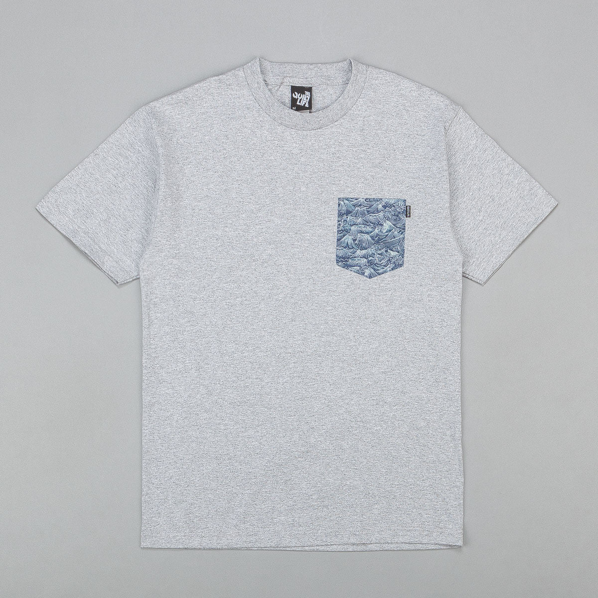 The Quiet Life Wave Pocket T-Shirt