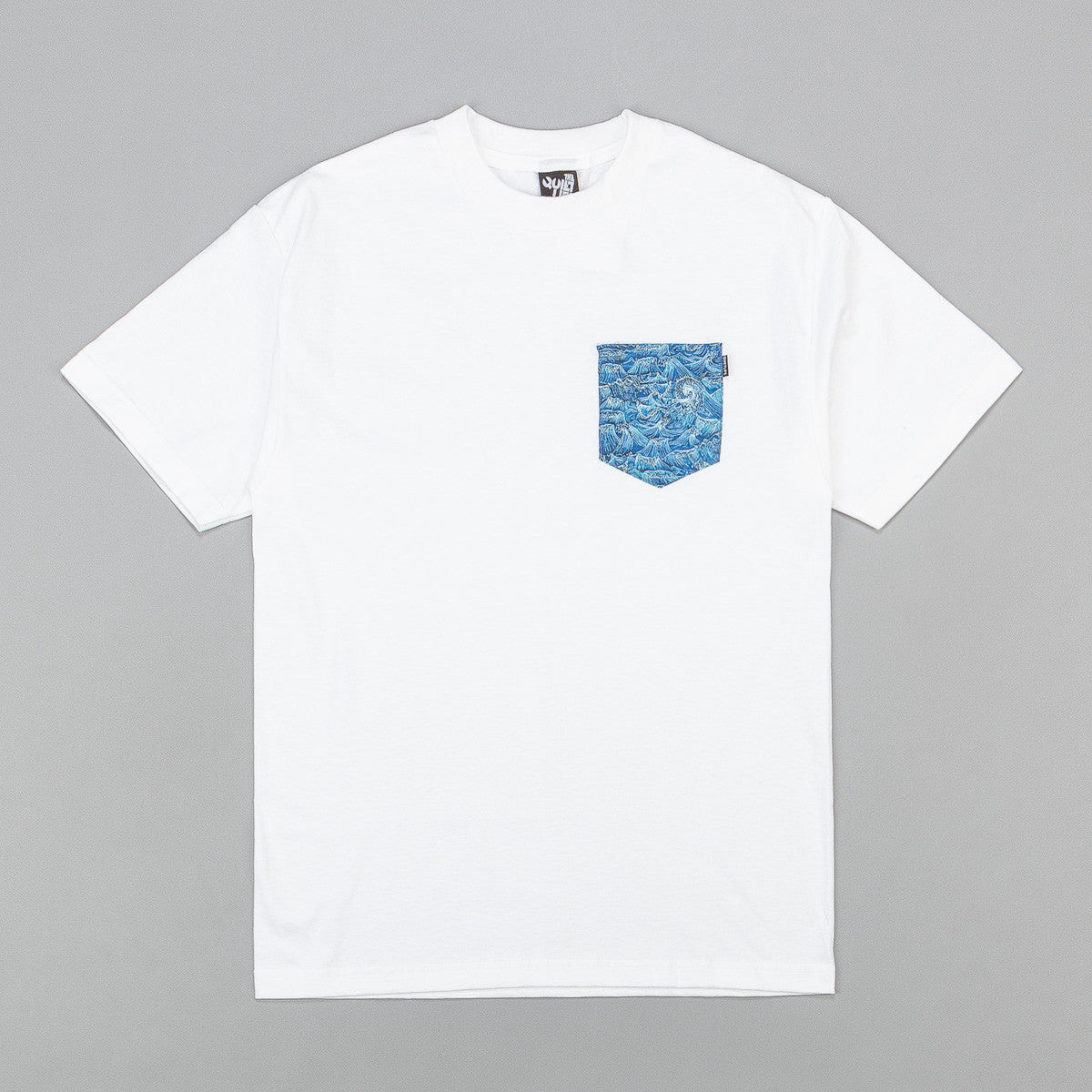 The Quiet Life Wave Pocket T-Shirt - White